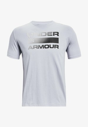 UA TEAM ISSUE WORDMARK  - T-shirt imprimé - mod gray