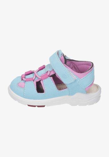 Walking sandals - turuoise/rosada