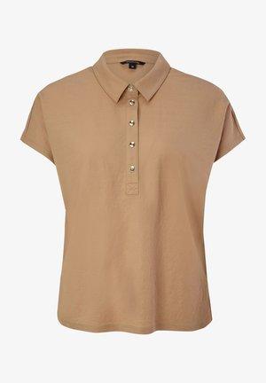 Polo shirt - sahara