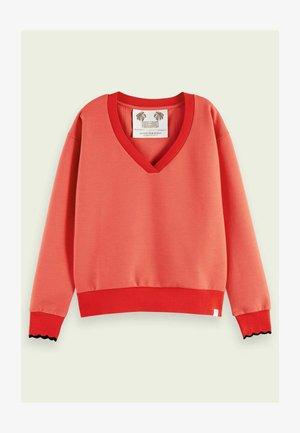 Sweatshirt - raspberry
