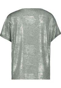 Monari - Print T-shirt - silber - 2