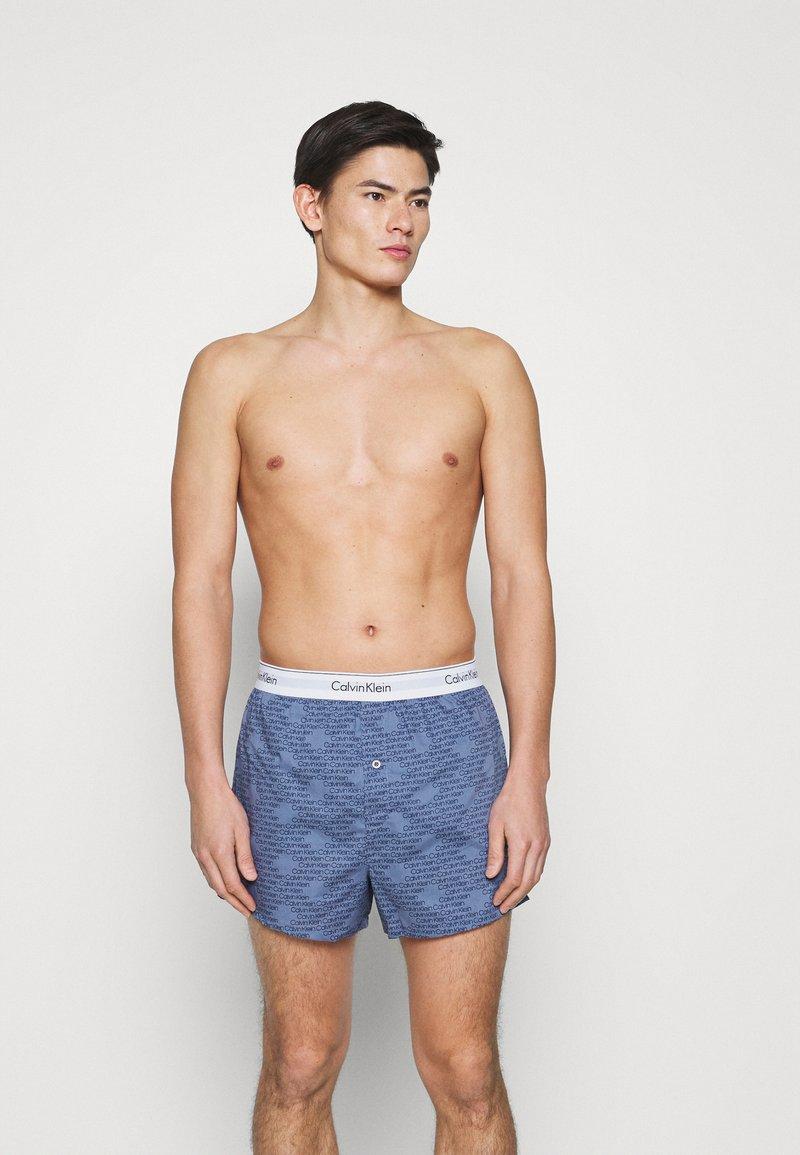 Calvin Klein Underwear - MODERN BOXER SLIM 2 PACK - Boxershorts - orange