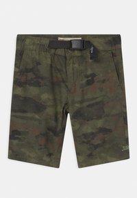 Levi's® - STRAIGHT FIT SUMMER TRAIL - Shorts - khaki - 0