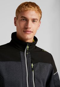 CMP - MAN JACKET - Soft shell jacket - asphalt melange - 3