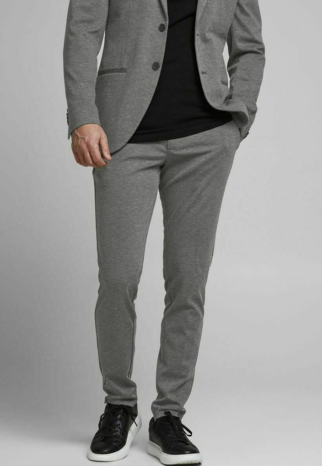 PHIL - Chinosy - dark grey melange