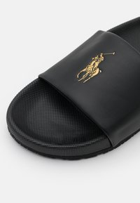Polo Ralph Lauren - CAYSON - Mules - black/gold - 6