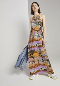TOM TAILOR DENIM - Maxi dress - tropical print - 1