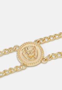 Pieces - PCLIONA WAIST CHAIN BELT CURVE - Pásek - gold-coloured - 2