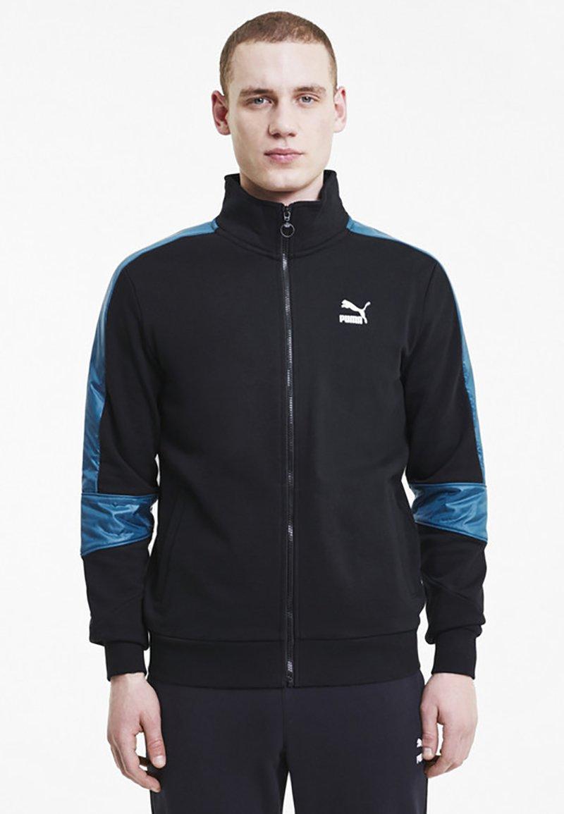 Puma - Training jacket - black-digi-blue
