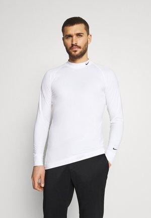VAPOR - Pitkähihainen paita - white/black