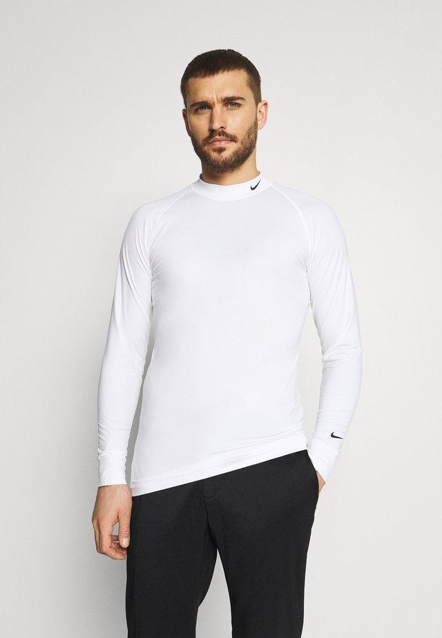 VAPOR - Maglietta a manica lunga - white/black