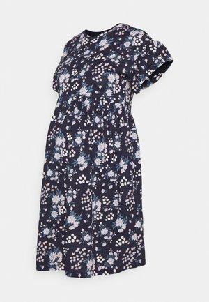 OLMMAY NEW LIFE  CUTLINE DRESS - Žerzejové šaty - light pink