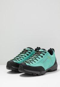 Scarpa - MOJITO - Obuwie hikingowe - green/blue - 2