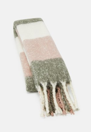 Scarf - light pink/grey