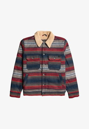 BARLOW SHERPA  - Jas - Red and mottled Blue