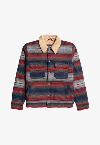 BARLOW SHERPA  - Light jacket - Red and mottled Blue