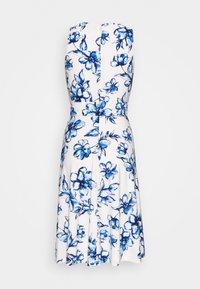 Lauren Ralph Lauren Petite - FELIA - Vestito estivo - cream/blue/multi - 1