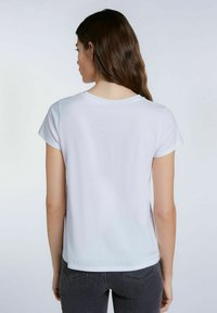 SET - Print T-shirt - bright white - 2