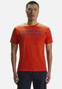 North Sails - T-shirt imprimé - red - 0