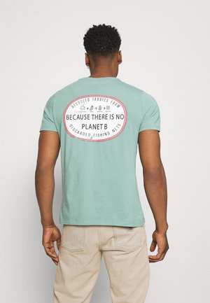RAVELLO MAN - Camiseta estampada - aqua green