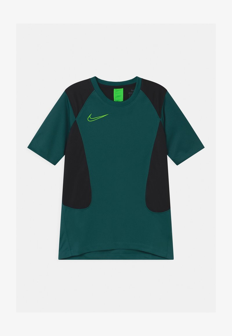 Nike Performance - ACADEMY UNISEX - T-shirt imprimé - dark teal green/black/green strike