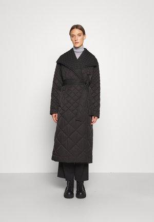 FALLON - Classic coat - black