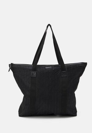 GWENETH LINE BAG - Tote bag - black