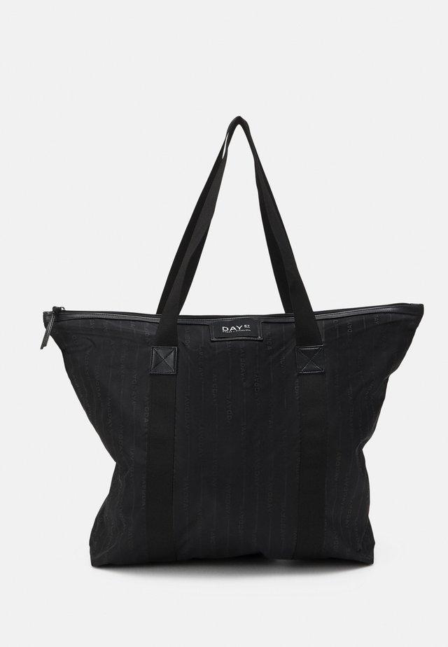 GWENETH LINE BAG - Cabas - black