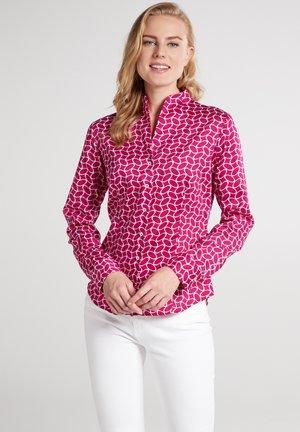 MODERN CLASSIC - Skjortebluser - pink/weiss