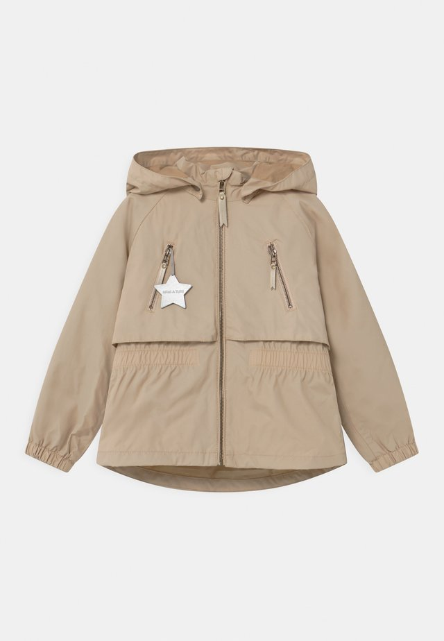 ALGEA - Veste imperméable - doeskin sand