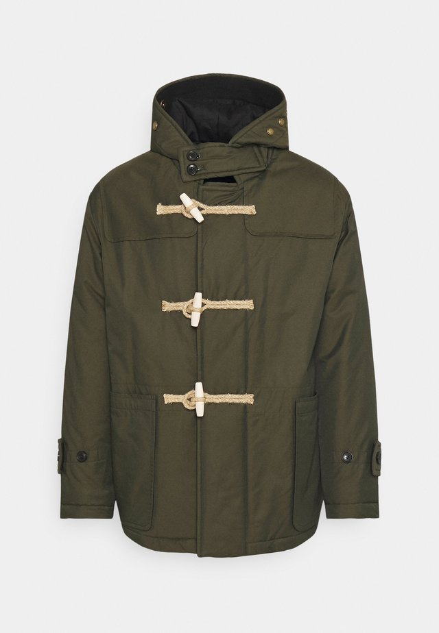 TILBURY SHORT PADDED DUFFLE - Short coat - khaki