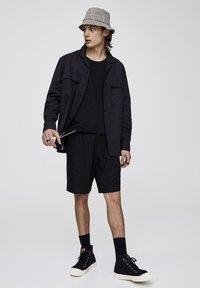PULL&BEAR - Shirt - black - 1