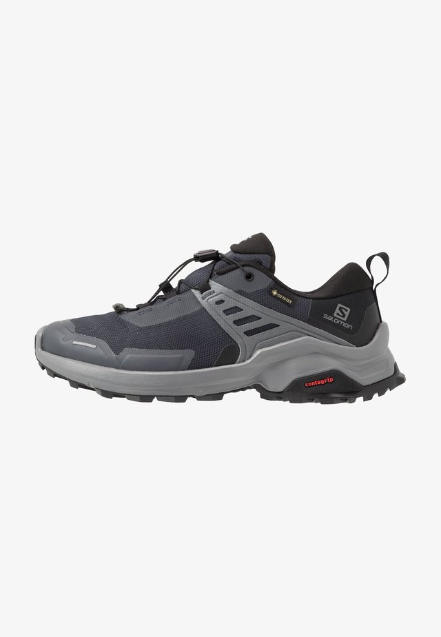 X RAISE GTX - Hiking shoes - ebony/black/quiet shade