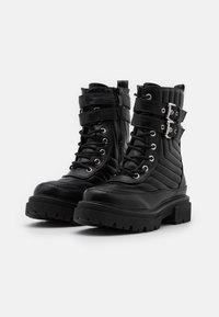 RAID - BRIANAH - Platform ankle boots - black - 2