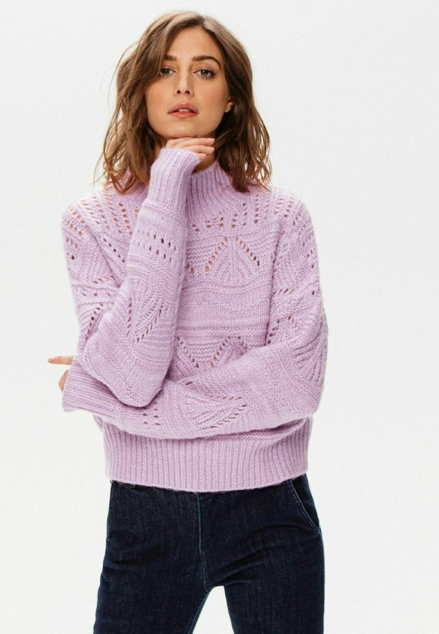 Pullover - parme