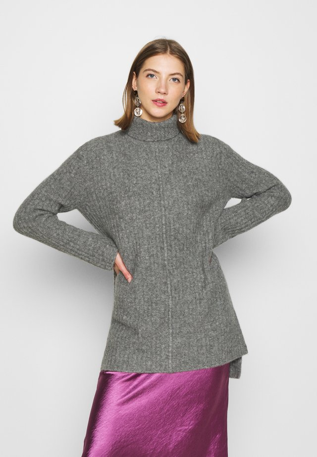 YOU KNOW LONG - Pullover - light grey melange