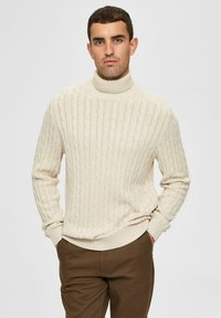 Selected Homme - Pullover - bone white - 0