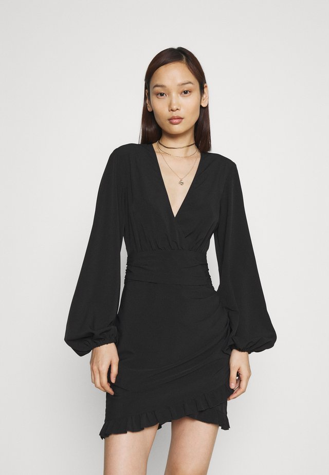 ROMANTIC DRESS - Vestito elegante - black