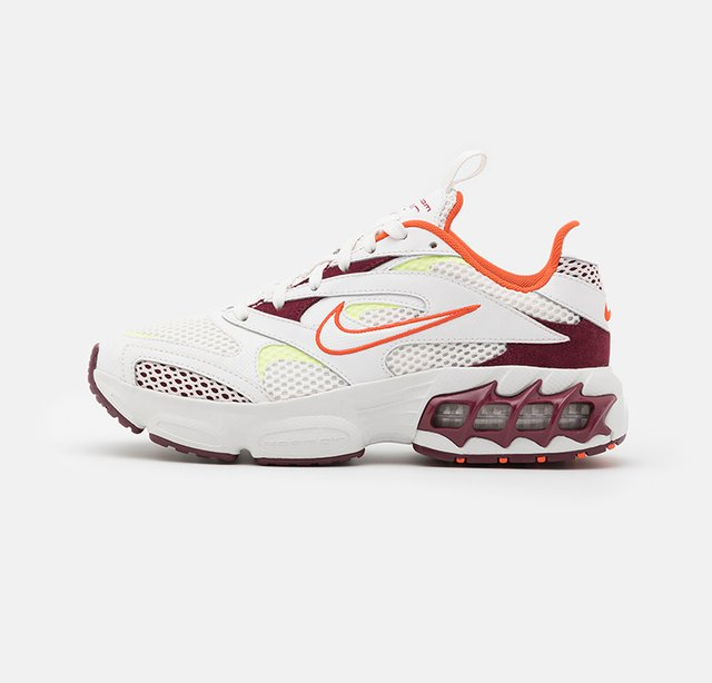 ZOOM AIR FIRE - Sneakers - dark beetroot/summit white/orange/light lemon twist