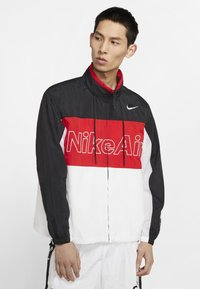 Nike Sportswear - NSW NIKE AIR  - Outdoor jacket - black/university red/white - 0
