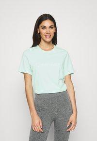 Calvin Klein Underwear - COMFORT CREW NECK - Pyjamapaita - aqua luster - 0