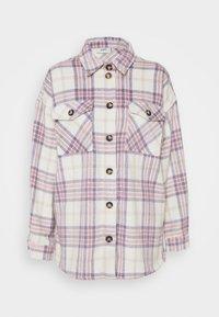 SAVISA - Short coat - lilac breeze