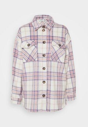 SAVISA - Krátký kabát - lilac breeze