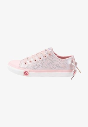 Sneakersy niskie - jasny różowy