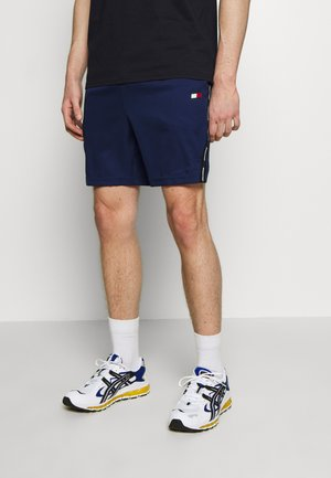 TAPE SHORT - Sports shorts - blue