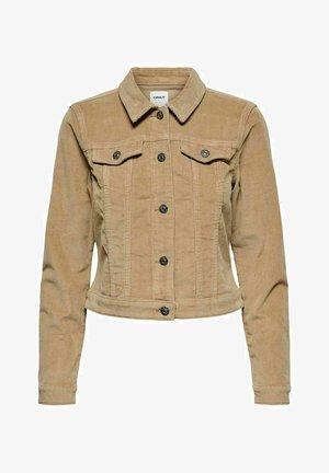 JACKE CORD - Summer jacket - tannin