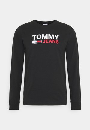 LONGSLEEVE LOGO UNISEX - Long sleeved top - black