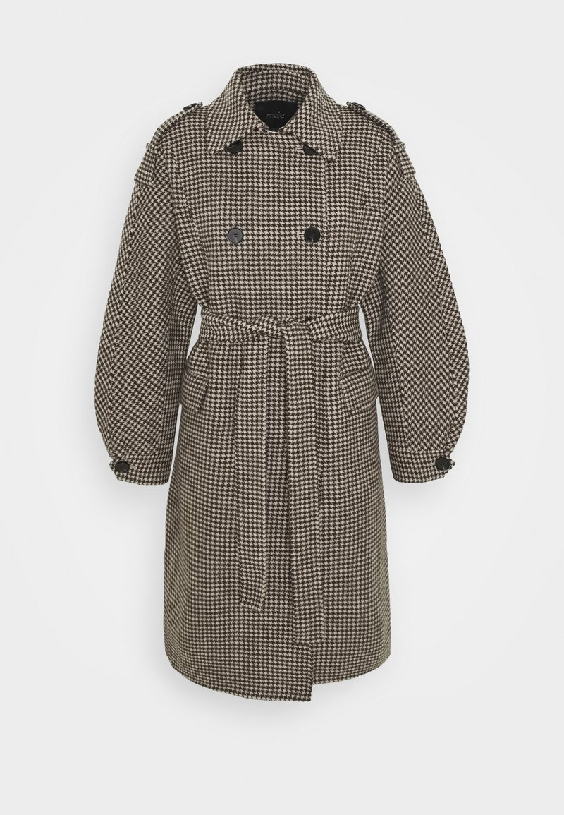 maje - GREG - Classic coat - marron