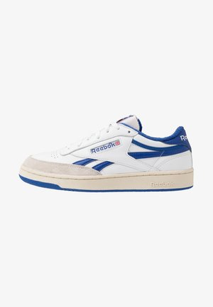 REVENGE PLUS VINTAGE - Sneakers basse - white/collegiate royal/red