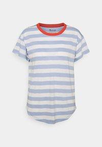 WHISPER SORREL CREWNECK TEE - Print T-shirt - blue